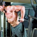 Отжимания на брусьях: какие мышцы работают + схема